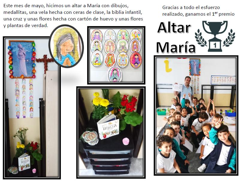 imagen altar de María