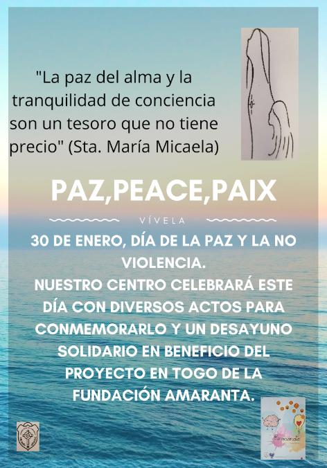 imagen día de la Paz